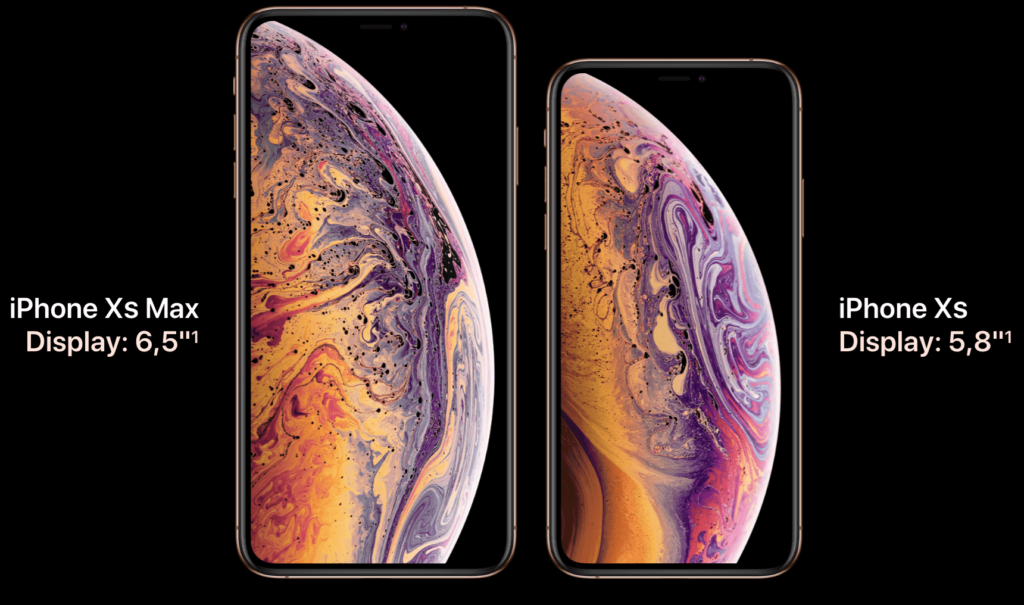iphone xs- iphone xs max